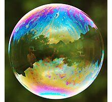 Planet Bubble Photographic Print