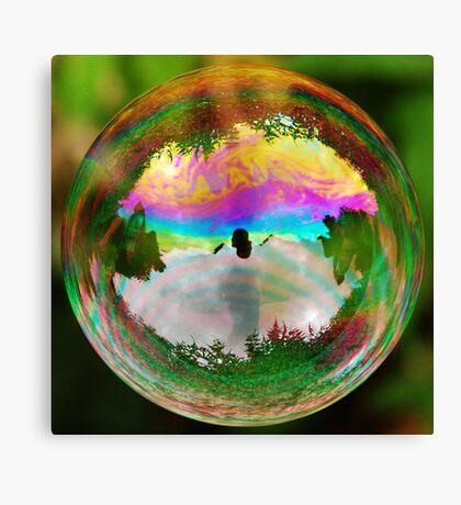 Leafy Bubble Canvas Print