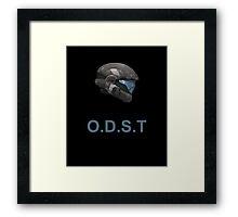 Halo O.D.S.T Framed Print