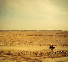 Desert riders in Iran by Desmond Kavanagh