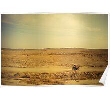 Desert riders in Iran Poster