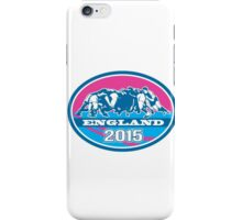 Rugby Scrum England 2015 Oval iPhone Case/Skin