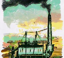 Industrial Revolution - Steam Elephant by Dennis Melling