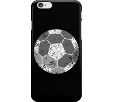 Soccer Ball with distressed look iPhone Case/Skin