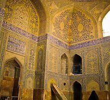 Imam Mosque, Esfahan, Iran by Desmond Kavanagh