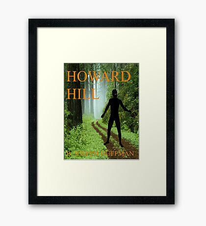 Howard Hill e-book cover Framed Print