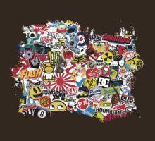Stickerbomb Grunge by MuralDecal