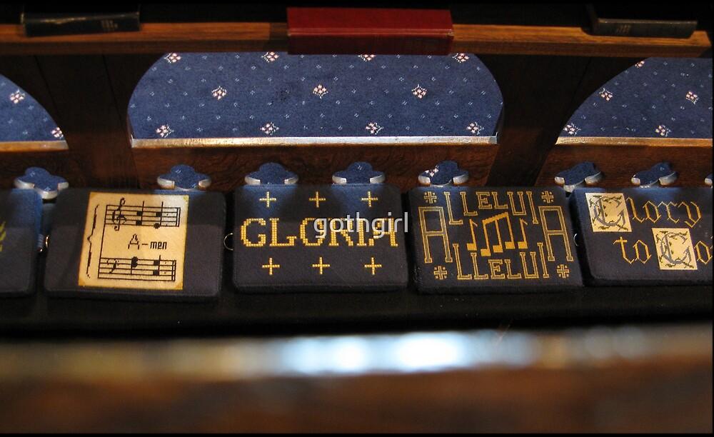 Church Pew by gothgirl
