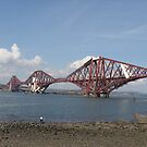 Forth Rail bridge, south queensferry, scotland by christinawalker