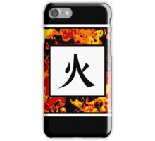 Fire Kanji iPhone Case/Skin