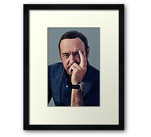 Kevin Spacey  Framed Print