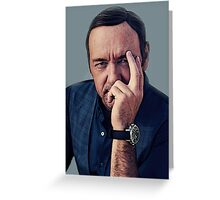 Kevin Spacey  Greeting Card