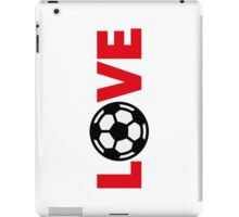 Football – Love / Soccer – Love iPad Case/Skin