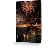 Painting with Light Greeting Card