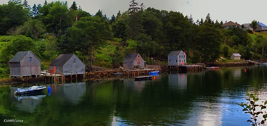 Boutilier's Point, Nova Scotia Canada by kenmo