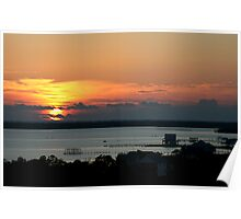Fort Morgan Sunrise Poster