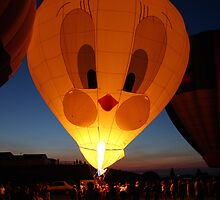 Tweety bird lights the sky by PhotosbyTerrell