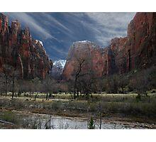 Zion National Park Photographic Print