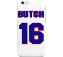National baseball player Butch Wynegar jersey 16 iPhone Case/Skin