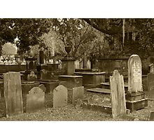 Old Southern Cemetery  Photographic Print
