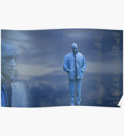 Lil Lonely Boy Blue Version 2  Poster