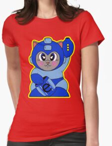 Mega Neko Womens Fitted T-Shirt