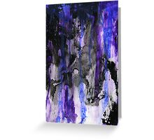 Blueberry Nightmare Greeting Card