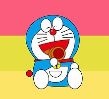 Rainbow Doraemon by killmetty