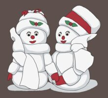 Snowcouple by Francesa