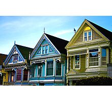 Painted Ladies Photographic Print