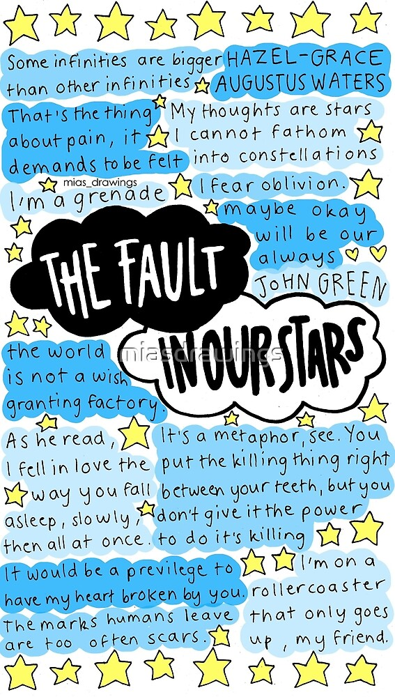 """The Fault In Our Stars quotes - 233.6KB"