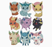 Eeveelutions - Pokemon  Kids Clothes