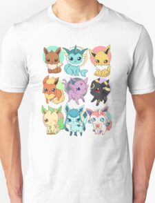 Eeveelutions - Pokemon  T-Shirt