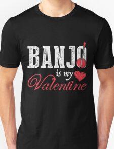 My Valentine Banjo T-shirt T-Shirt