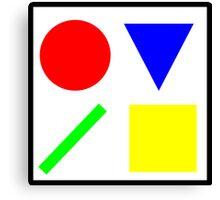Primary Basics Canvas Print