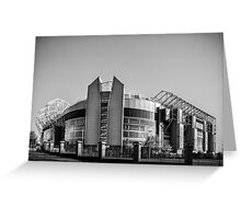 Theatre of Dreams Greeting Card