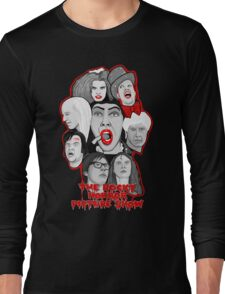 rocky horror picture show 40th anniversary tribute Long Sleeve T-Shirt