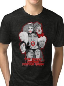 rocky horror picture show 40th anniversary tribute Tri-blend T-Shirt