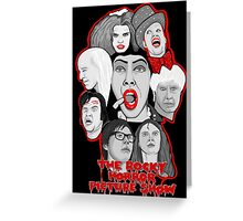 rocky horror picture show 40th anniversary tribute Greeting Card