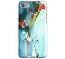 Flowers in Vase iPhone Case/Skin