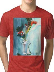 Flowers in Vase Tri-blend T-Shirt