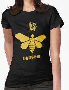 Bee Methylamine Womens Fitted T-Shirt