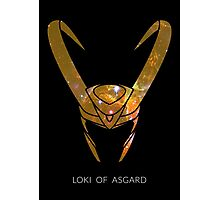 Loki of Asgard Photographic Print