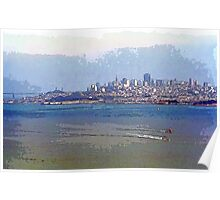 Painterly San Francisco (City and Bay) Poster