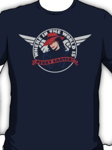 Where in the World is Peggy Carter T-Shirt