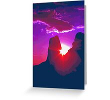 Southeastern Utah Sunset (5) Greeting Card