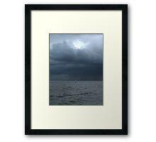Nautical Intimidation Framed Print