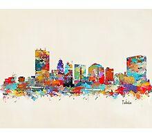 Toledo Ohio skyline Photographic Print