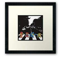 nintendo beatles Framed Print