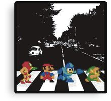 nintendo beatles Canvas Print